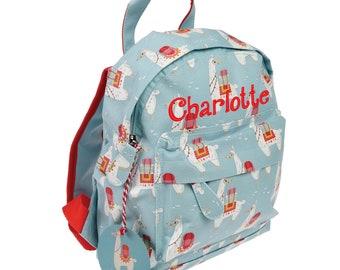 210dbba9e609 Personalised Llama design Nursery mini backpack