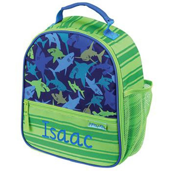 fcc47b7e5052 Shark lunchbox Personalised lunch box Shark lunch bag