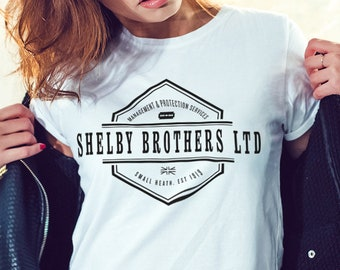 Peaky Blinders T-Shirt, Peaky Blinder's Gift, Women's Ladie's Cool Fashion T-Shirt, Gift for Her.