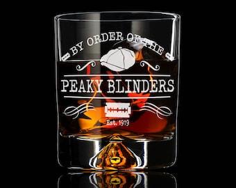 Peaky Blinders Tumbler, Gin Gift, Whiskey Gift. By Order of the Peaky Blinders