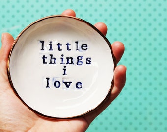 Little Things I Love [Copper Rim]