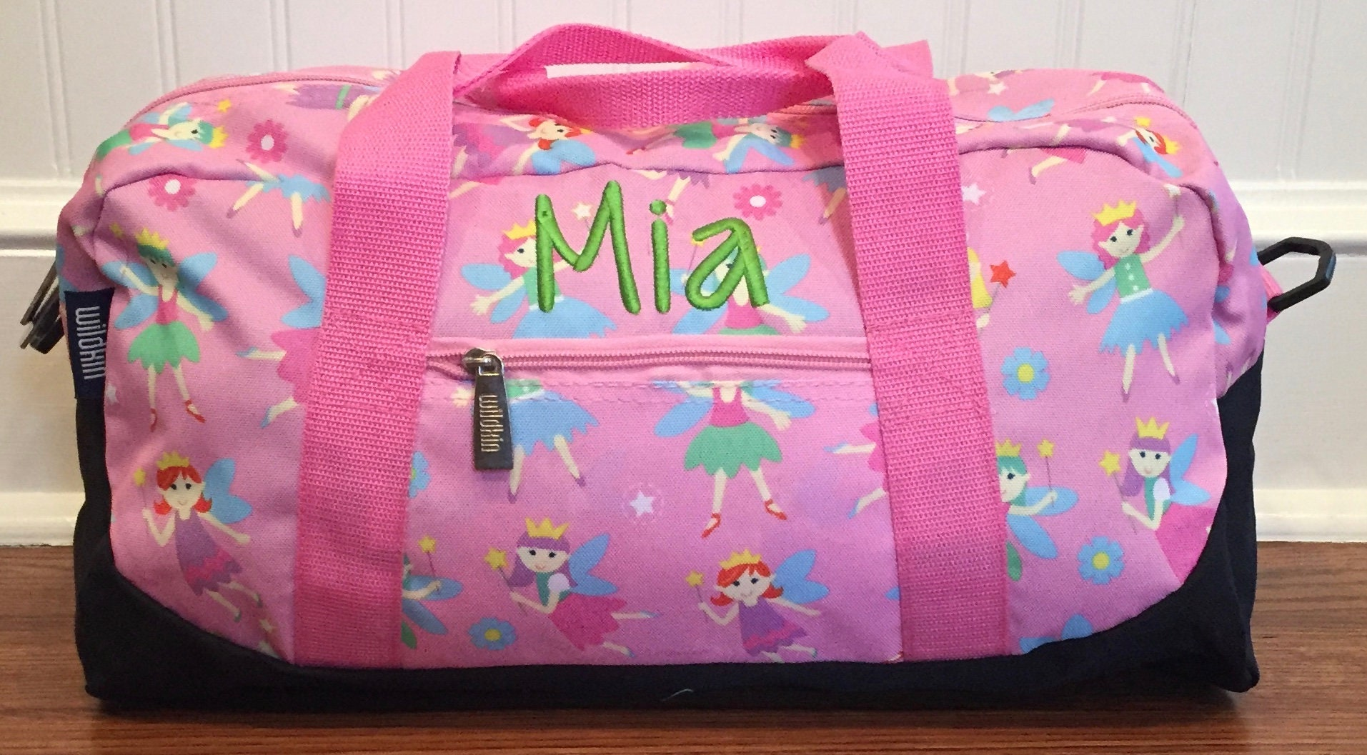 Girls Duffel Bag Overnight Birthday Gift Carry On Sleepover Personalized Baby Shower