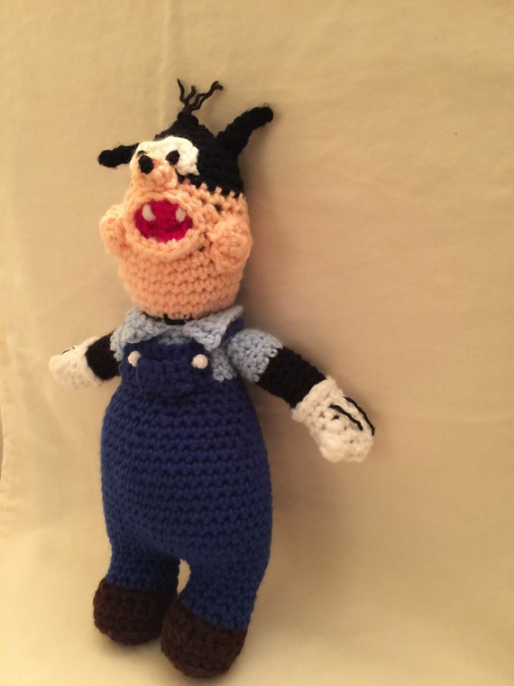 Pete Stuffed Animal Inspired By Disney S Mickey Etsy