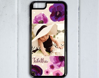 Custom Photo Personalized Phone Case, Personalized iPhone 6s Case, 6 Plus, iPhone 7  Custom Case, Custom iPhone 7 Plus Case,Cell Phone Cover