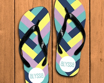 0ff6eb37be73c MR and MRS Bridal Flip Flops Personalized Just Married