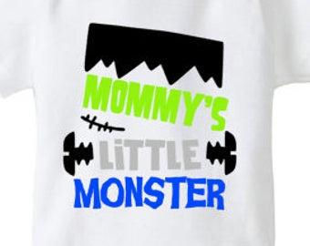 Halloween onesie, Mommy's Little Monster, Halloween Shirt, Toddler, Infant, First Halloween