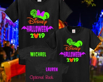 Disney Halloween Shirts 2019.Not Scary Halloween Etsy