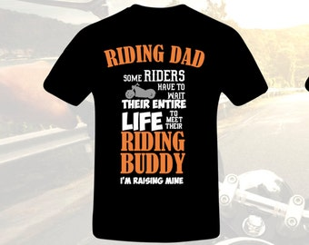 Father's Shirt, Man's Shirt, Father's Day, Motorcycle Dad, Rider, Father and son Shirt, Dad Shirt, Man's Shirt, Guy