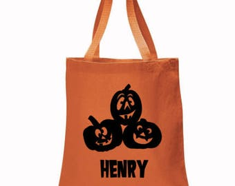 Halloween, Personalized Halloween Bags, Candy Bags, trick or treat, halloween bags, Disney