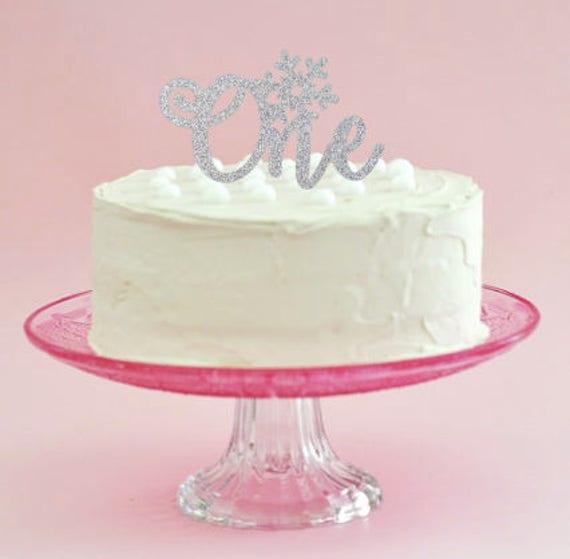Winter Onederland Cake Topper Onederland First Birthday 1st Etsy