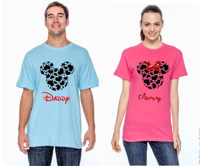 788ad230bb25 Family Mickey Minnie Shirts Christmas Matching Vacation