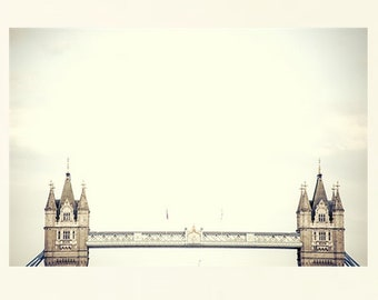 London Print, London Photography, Tower Bridge, Cottage Chic Wall Art, Travel Photography, London Wall Art