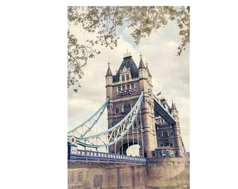 London Print, Tower Bridge Print, London Wall Art, Tower Bridge Art, London Travel Photography, London Art
