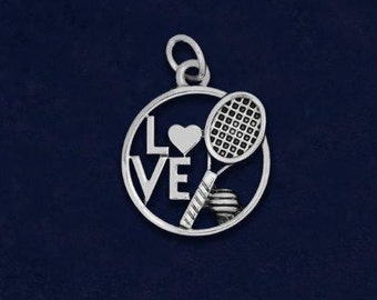 Tennis pendant etsy 25 tennis love charms 25 charms c 03 sptn aloadofball Images