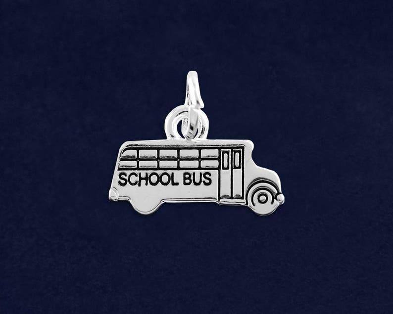 School Bus Charm in a Bag RE-C-05-TS 1 Charm - Retail