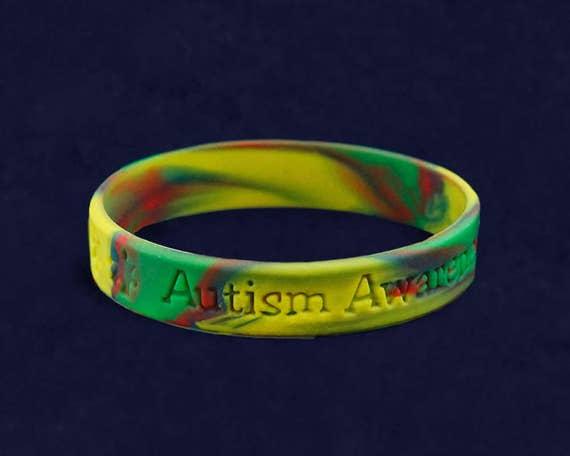 53fcc6676f98 Autism Silicone Bracelet - Child Size (RE-SILBC-2)