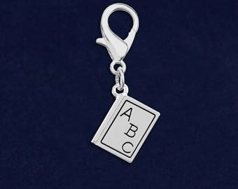 ABC Book Hanging Charms in a Bag (1 Hanging Charm) (RE-HC-04-Ts)