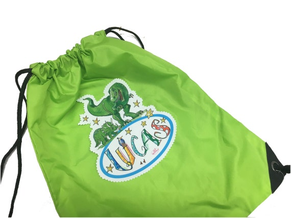 0e83e5a9fd97 Gym bag with name sports bag children s school