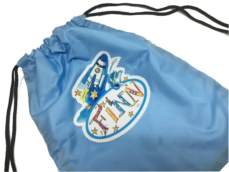 8d78a54fddf2b Torby sportowe z nazwą torba sportowa dzieci w szkole | Etsy