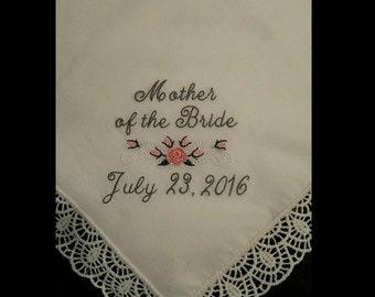 Mother of the Bride or Groom Handkerchief