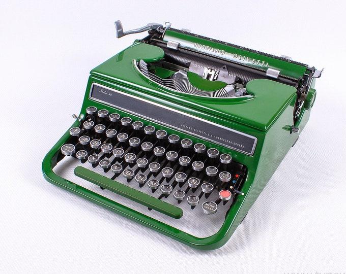 HISPANO OLIVETTI STUDIO 46(42) - perfectly working typewriter - Professionally Serviced
