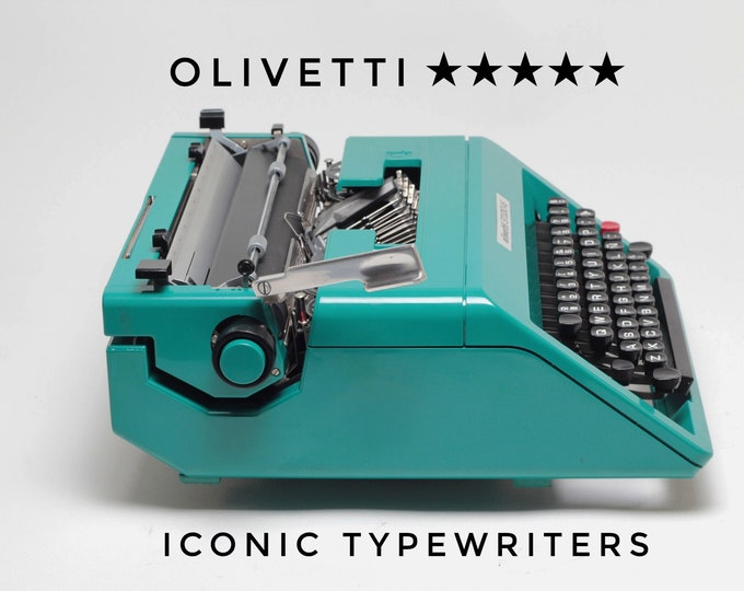 PRO - One Year Warranty! QWERTY - Olivetti Studio 45 - SERVICED - Perfectly Working Typewriter - Best Gift for a Writer!