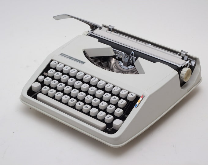 BEST GIFT! HERMES Baby typewriter -  perfectly working vintage typewriter - Professionally Serviced - gift for a writer