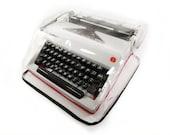 MEDIUM ULTRA LIGHT Transparent Cover for Typewriter Olympia SM1, SM2, SM3, SM4, SM5, SM7, SM9, SM9, Monica, Dust Cover