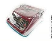 MEDIUM HEAVY DUTY Transparent Cover for Olivetti Studio 44 Studio 42 46- Typewriter Dust Cover