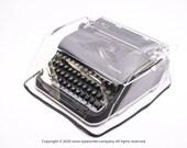 MEDIUM ULTRA LIGHT Transparent Cover for Typewriter Olympia SM1, SM2, SM3, SM4, SM5, SM7, SM9, SM9, Dust Cover