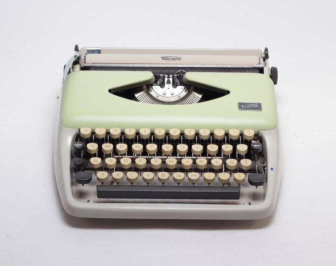 Rare CURSIVE TIPPA Adler - Vintage Typewriter - rare typewriter - Midcentury Typewriter - Portable Typewriter
