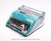 MEDIUM ULTRA LIGHT Transparent Cover for Typewriter Olivetti Studio 45 - Ultra Light Dust Cover