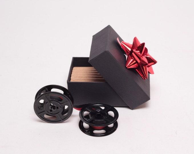 CUSTOM-MADE Colourful spools - Universal and Original Metal Typewriter Ribbon - Universal Ribbon Adler, Olympia, Triumph, Olivetti