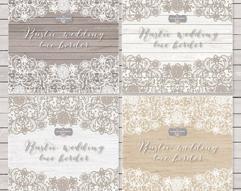 Lace wedding invitations etsy vector lace border rustic wedding invitation border frame lace clipart white lace wedding invitation shabby chic clipart vintage lace filmwisefo