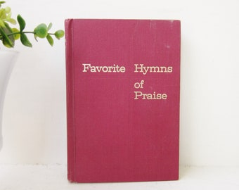 Vintage Hymnal Books