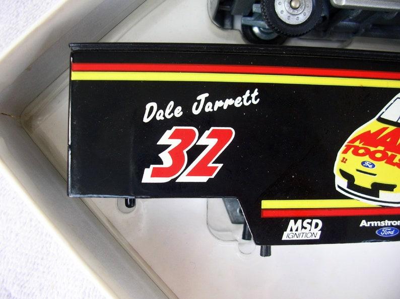 Winross 1995 Mac Tools Racing Team Die Cast 164  TruckTrailer Dale Jarrett Limited Edition 12600