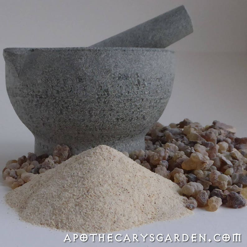 Frankincense Sacra-Freshly powdered-For Capsules incense image 0