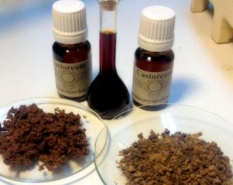 Castoreum- Canadian Beaver Castor Tincture. 10% concentration
