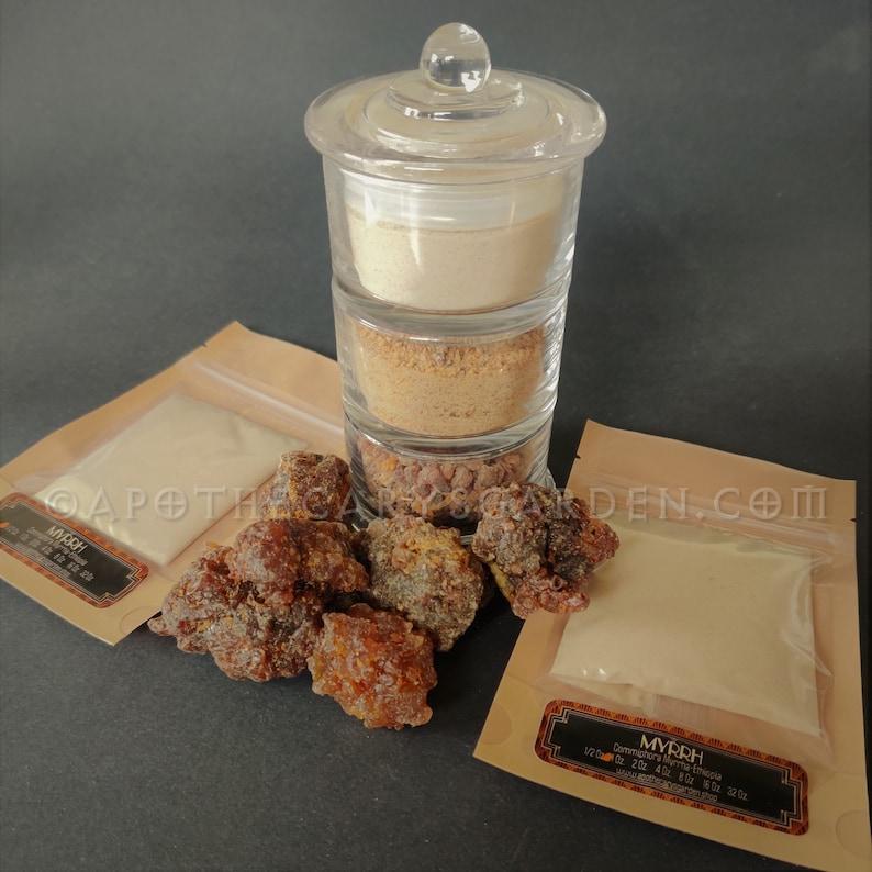Myrrh Powder-APOTHECARY GRADE-Commiphora Myrrha. Perfect for image 0