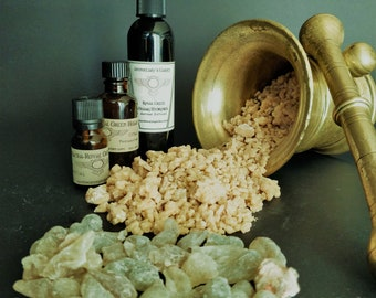 Royal Green Hojari Resin Extract-Boswellic acids- Frankincense-For Salves-Cremes-Moustache Waxes-Incense