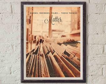 20% OFF!! High Fidelity Movie Poster Vintage Style Magazine High Fidelity Print Retro Cinema Studio Watercolor Background