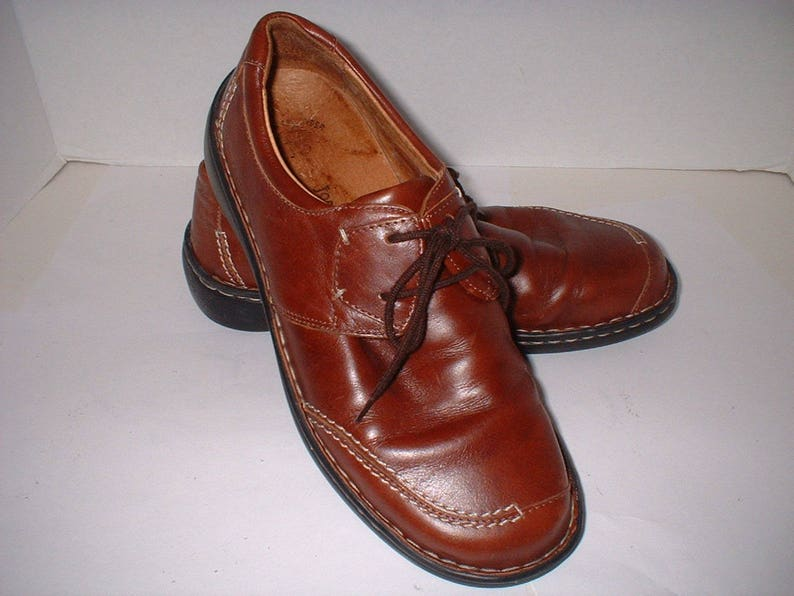 ffd66b45f1b1c Josef Seibel Brown Leather Walking Shoes Size 39 like Size 8 ExC