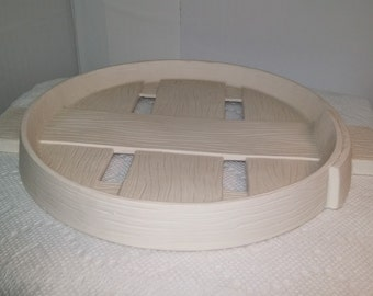 Ceramic Bushel Basket Lid