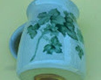 Light Green Stoneware Spice Shaker