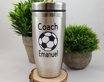 Gift for Soccer Coach - Soccer Coach Gift - Soccer Gifts - Coach mug - Soccer Team Gift - Personalized Coach Gift, Soccer gift for Coach
