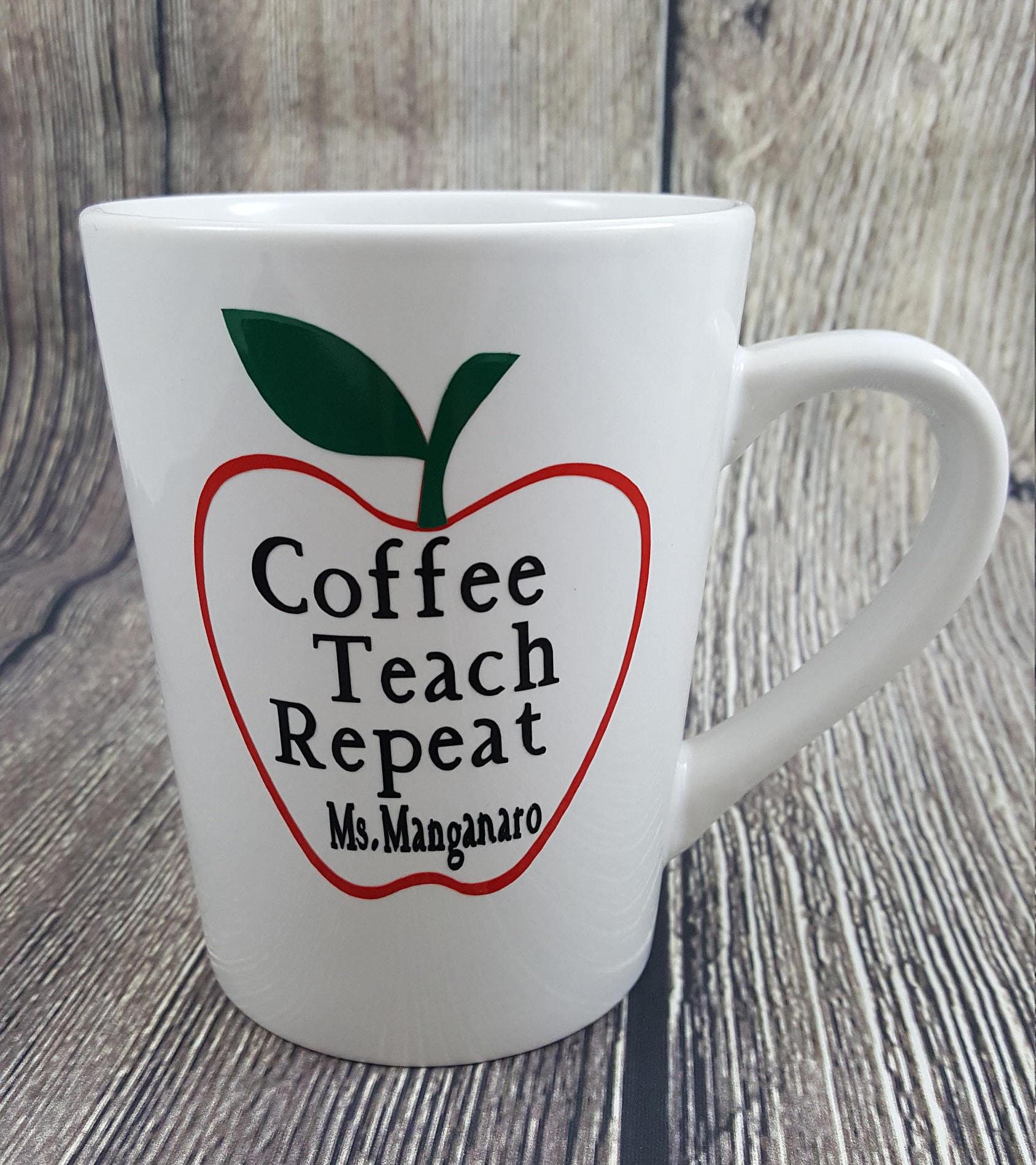 teacher gift coffee mugs personalized teacher coffee mug teacher