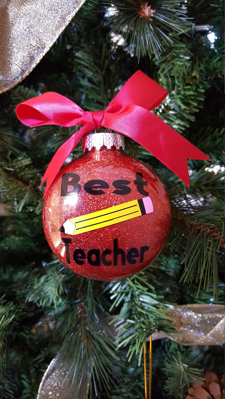 christmas ornaments for teachers plastic crafts ornaments best teacher favor best teacher christmas gift teachers gift idea