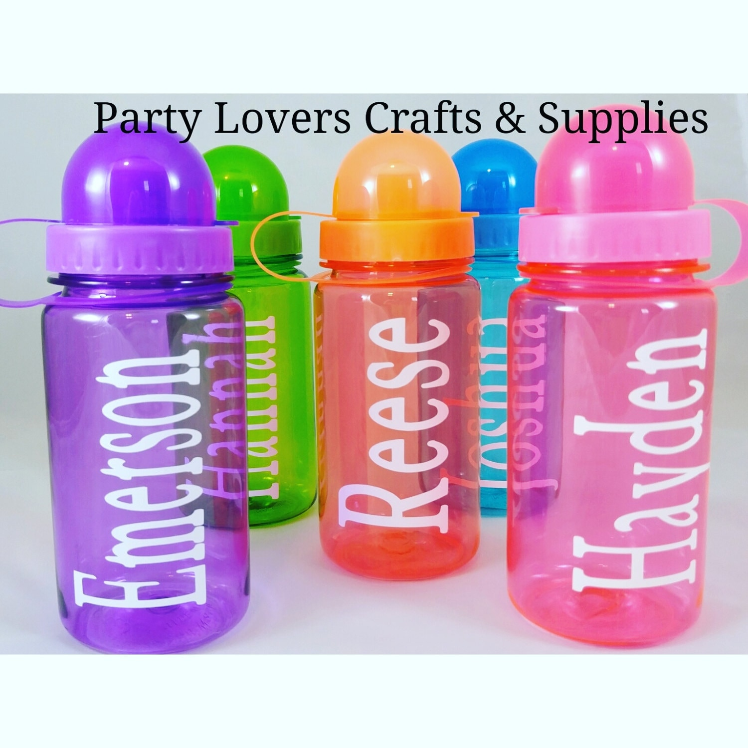 Water Bottle Party Favors - Bottle Designs