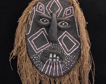 African Wall Mask Etsy