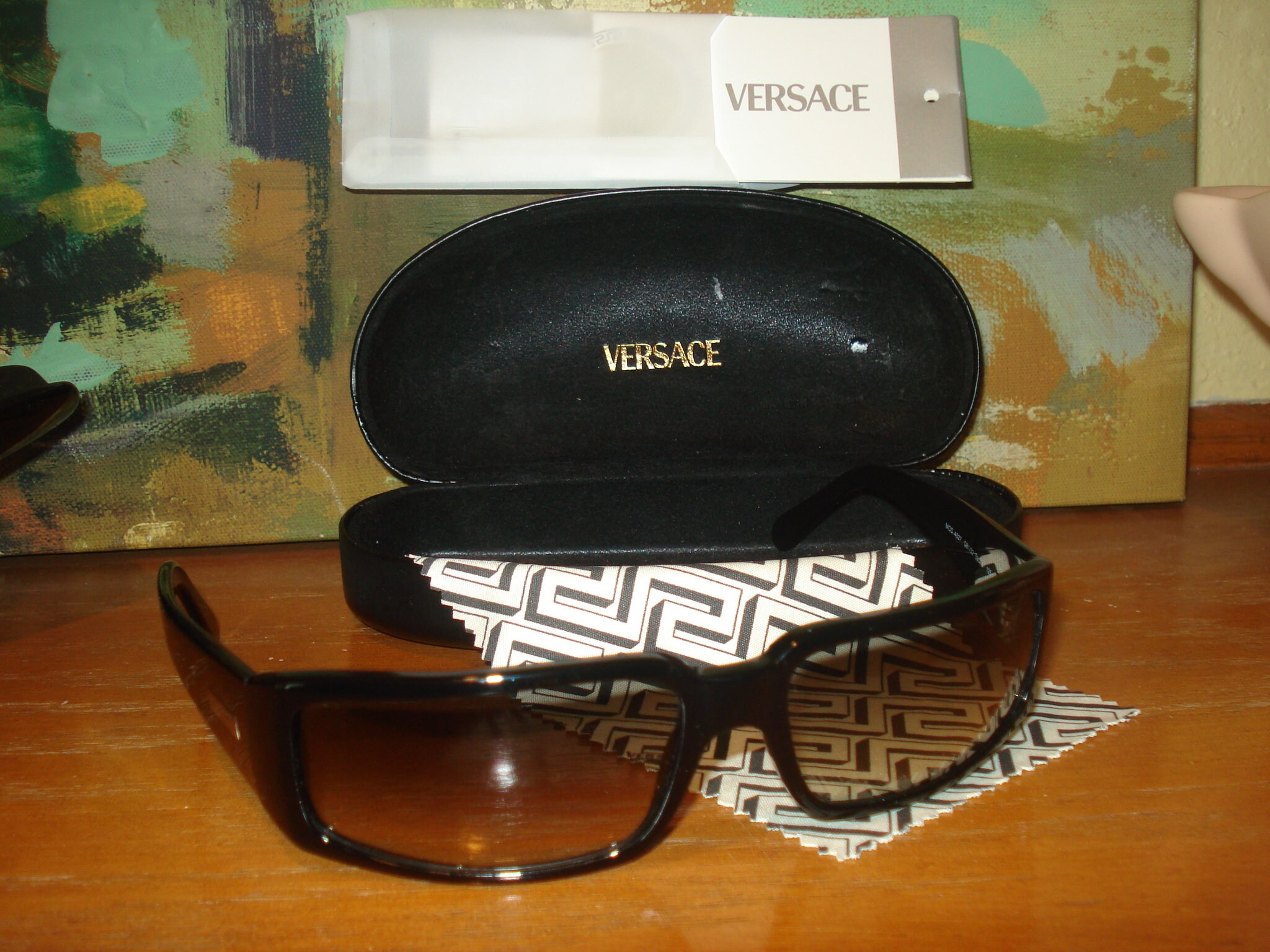 80f33acb98950 Men s Versace Sunglasses Model  4027 from the 90 s w  case ...